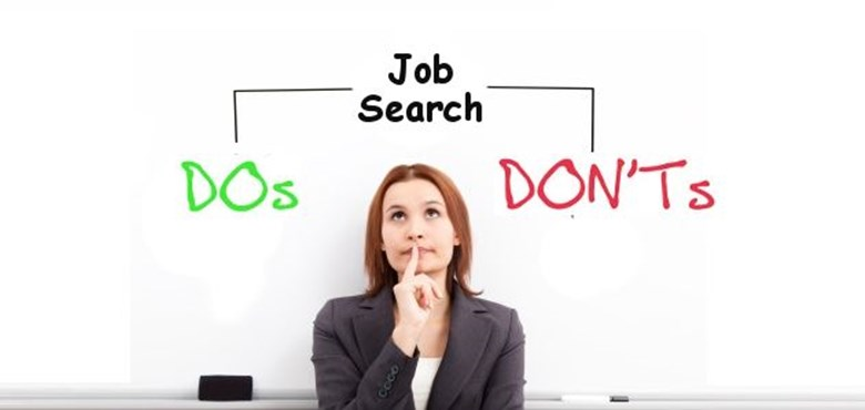 Job Search - Do's and Don'ts Listing Image