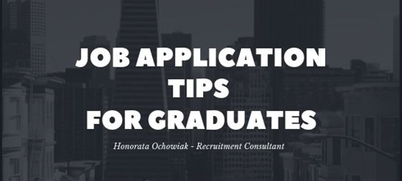 Job Application Tips – Graduates Banner
